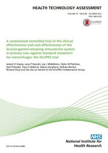 clinical and cost-effectiveness of IUS
