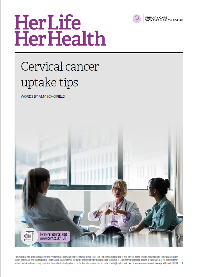 cervical cancer uptake tips