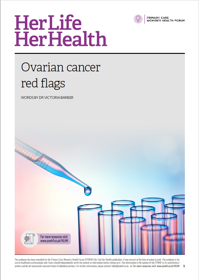 Ovarian cancer red flags