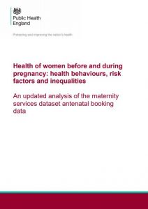 An analysis of the health of women before & during pregnancy: behaviours, risk factors & inequalities
