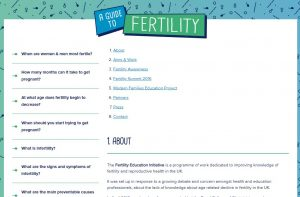 British Fertility Society Fertility Education Initiative