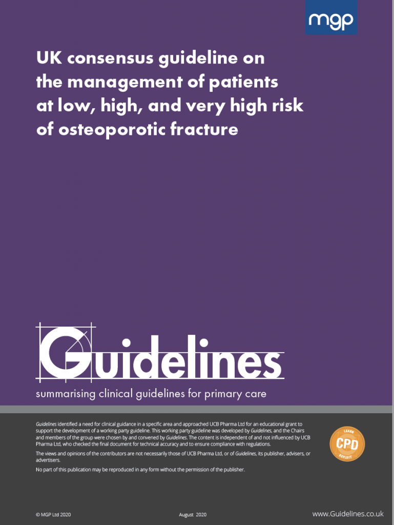 Guideline on the management of patients at high risk of osteoporotic fracture