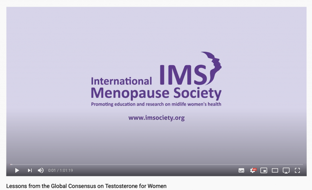Lessons from the Global Consensus on Testosterone for Women