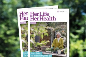 Her life her health magazine front cover
