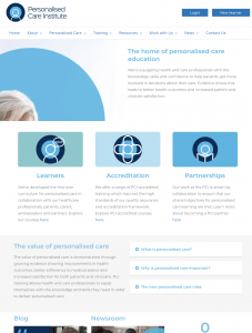 Personalised Care Education