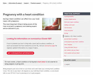 Pregnancy with a Heart Condition